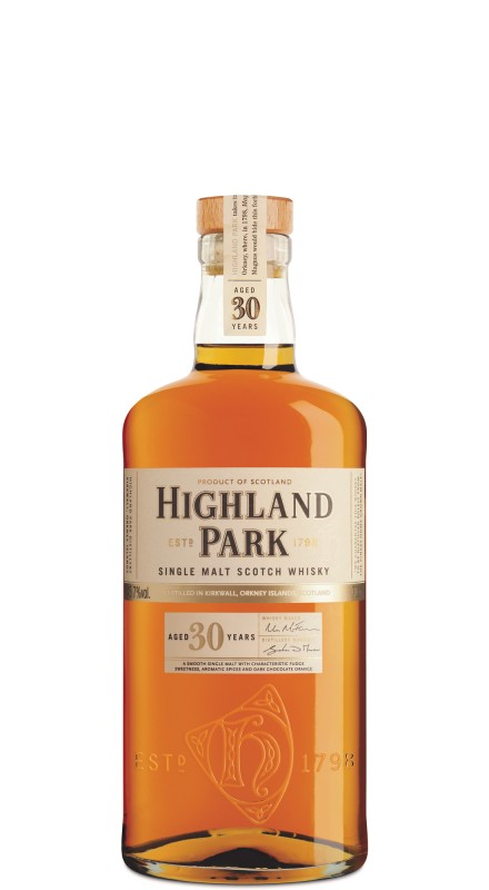 Highland Park 30 Y.O. Single Malt Whisky