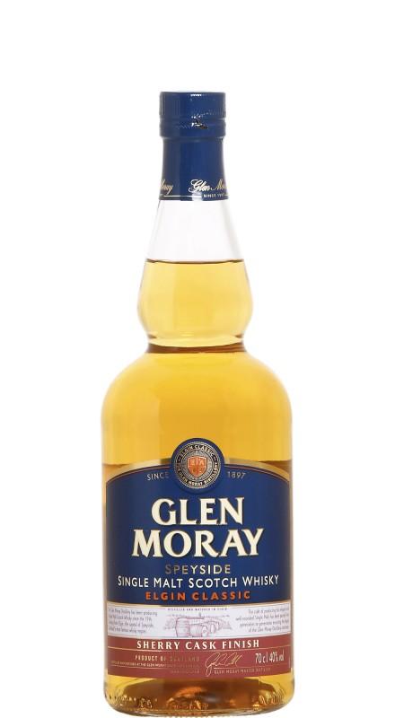 Glen Moray Elgin Classic Sherry Cask Single Malt Scotch Whisky