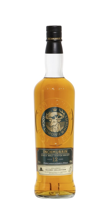 Inchmurrin 12 Y.O. Single Malt Scotch Whisky
