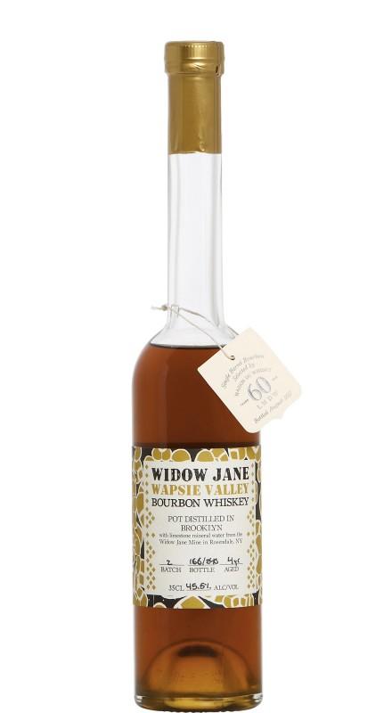 Widow Jane 4 Y.O. Wapsie Valley Burbon Whiskey