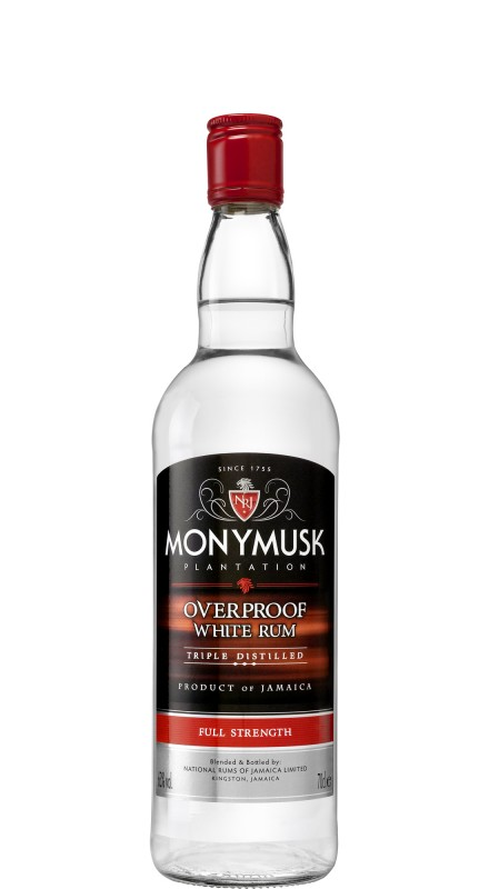 Monymusk Overproof White Single Blended Rum