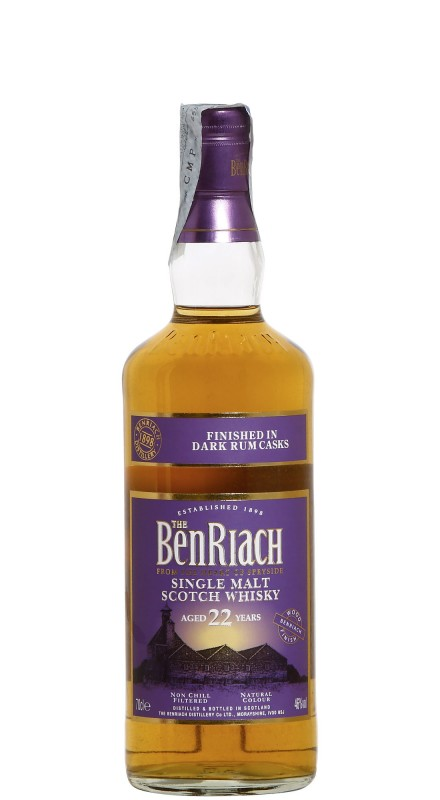 Benriach 22.Y.O. Dark Rum Single Malt Whisky