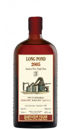 Habitation Velier Long Pond TECA 2005 Pure Single Rum