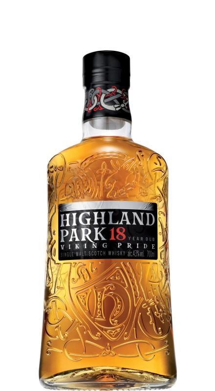 Highland Park 18 Y.O. Single Malt Whisky