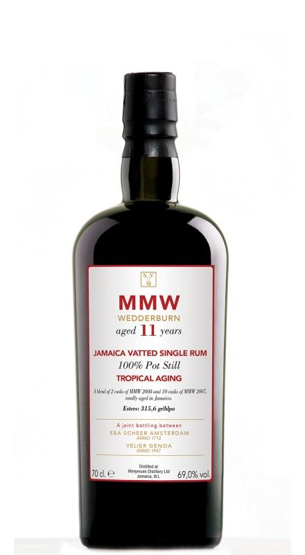 Monymusk 11 Y.O. MMW Wedderburn Tropical Aging