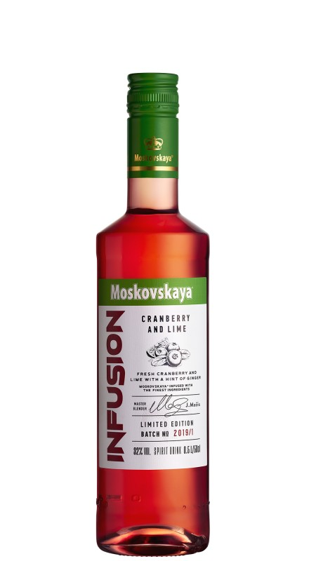 Moskovskaya Infusion Cranberry And Lime