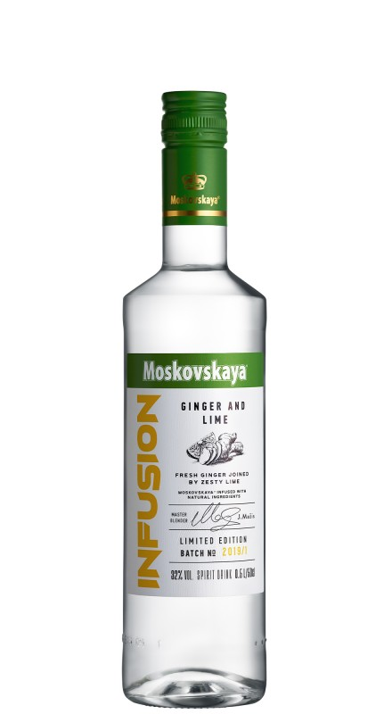 Moskovskaya Infusion Ginger And Lime