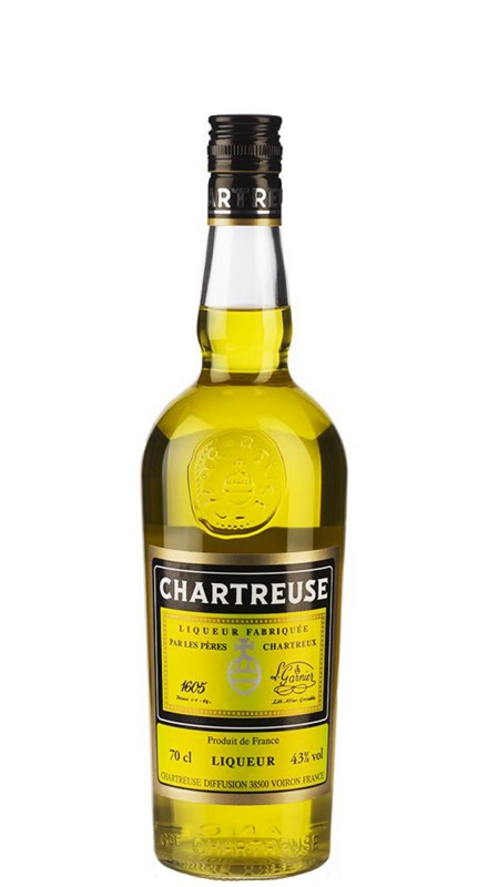 Chartreuse Jaune (Gialla) 43%