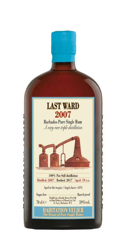 Habitation Velier Last Ward 2007 Rum