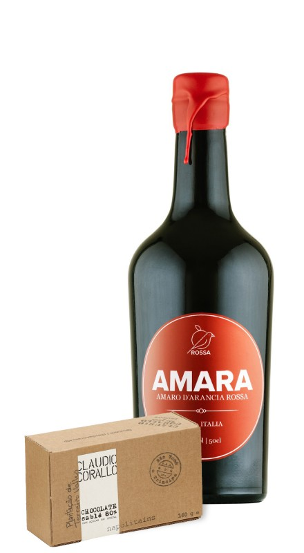 Amara + Cioccolato Corallo Sable