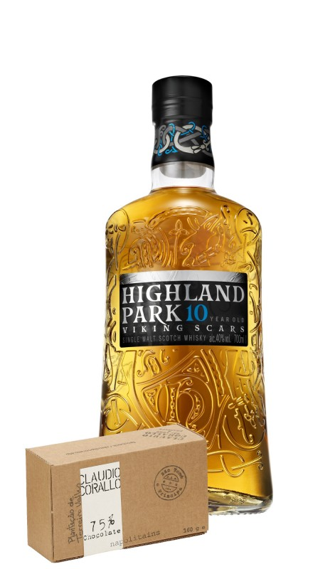 Highland Park 10 Y.O. + Cioccolato Corallo 75%