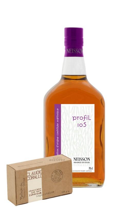 Neisson Profil 105 + Cioccolato Corallo Caffe Liberica
