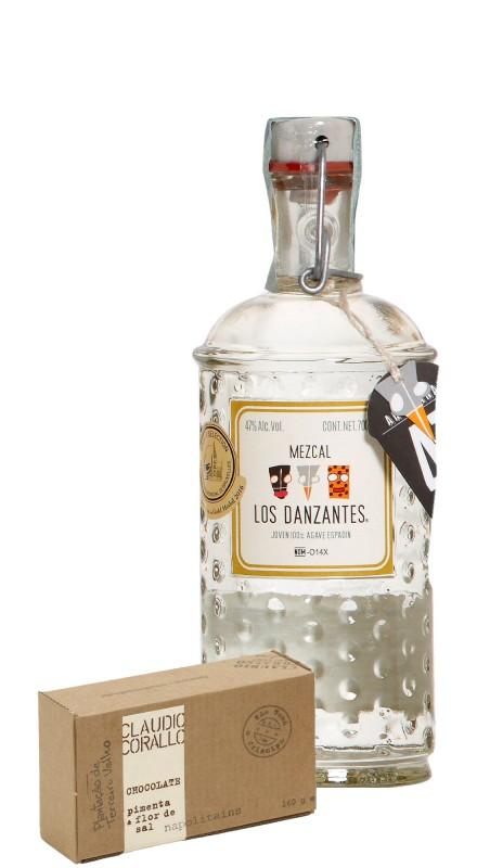 Los Danzantes Espadin + Cioccolato Corallo Pepe e Sale