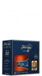 Flor De Cana 12 Y.O. Gift Pack