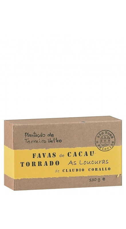 Corallo Chocolate with Roasted Cocoa Beans
