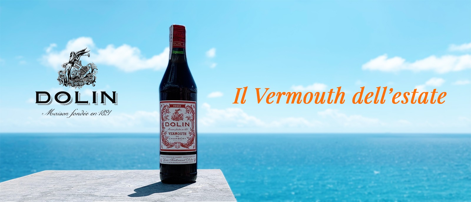 Dolin Vermouth Rouge Banner