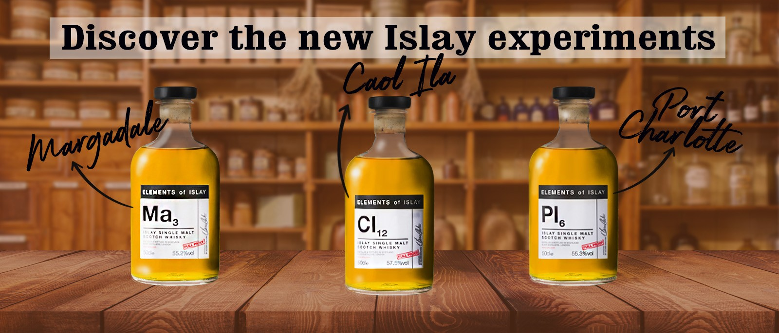Elements of Islay News: Ma3, Cl12, Pl6
